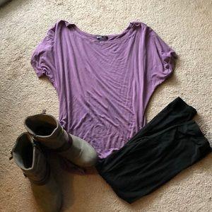 Tops - Dusty purple tunic